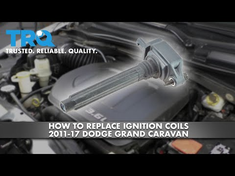 How to Replace Ignition Coils 11-17 Dodge Grand Caravan