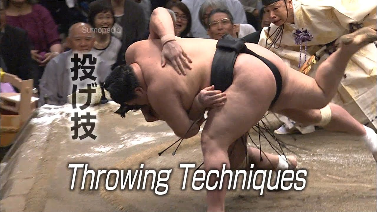 Photo of Throwing Techniques [投げ技] – SUMOPEDIA – video