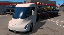 Tesla Semi Truck | OREGON | Transportando Autos Tesla a Portland