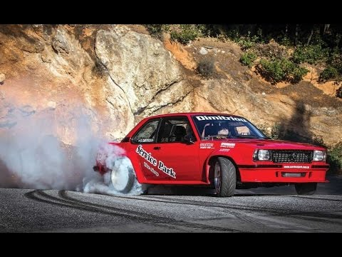 Opel Ascona Turbo – Highspeed Drift at Hillclimb