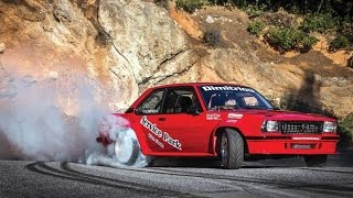 Opel Ascona Turbo - Highspeed Drift at Hillclimb