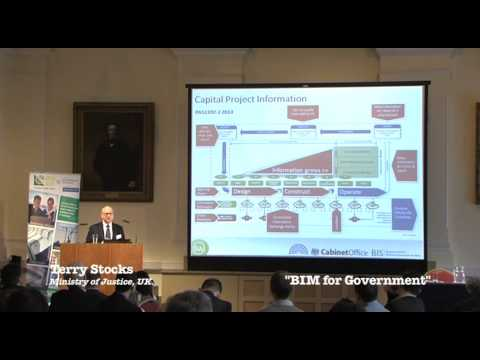 CITA MARCH 2014, Terry Stocks, UK BIM Task Group & Ministry of Justice