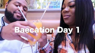 Baecation Las Vegas✈️🌴☀️Day 1 | Black Family Vlogs