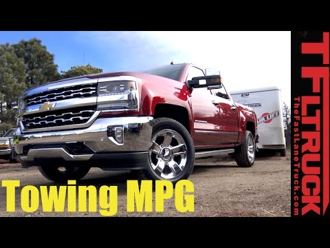 2017 Chevy Silverado 6 2l Towing Mpg Review How Thirsty Is The V8