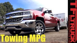 2017 Chevy Silverado 6.2L Towing MPG Review: How Thirsty Is The Big V8?