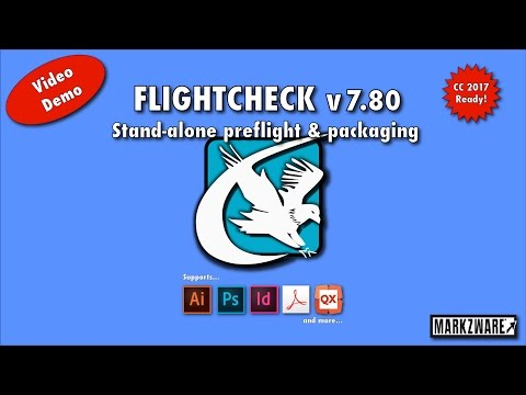 #FlightCheck for #CC2017 - Stand-Alone #Preflight and Package Application