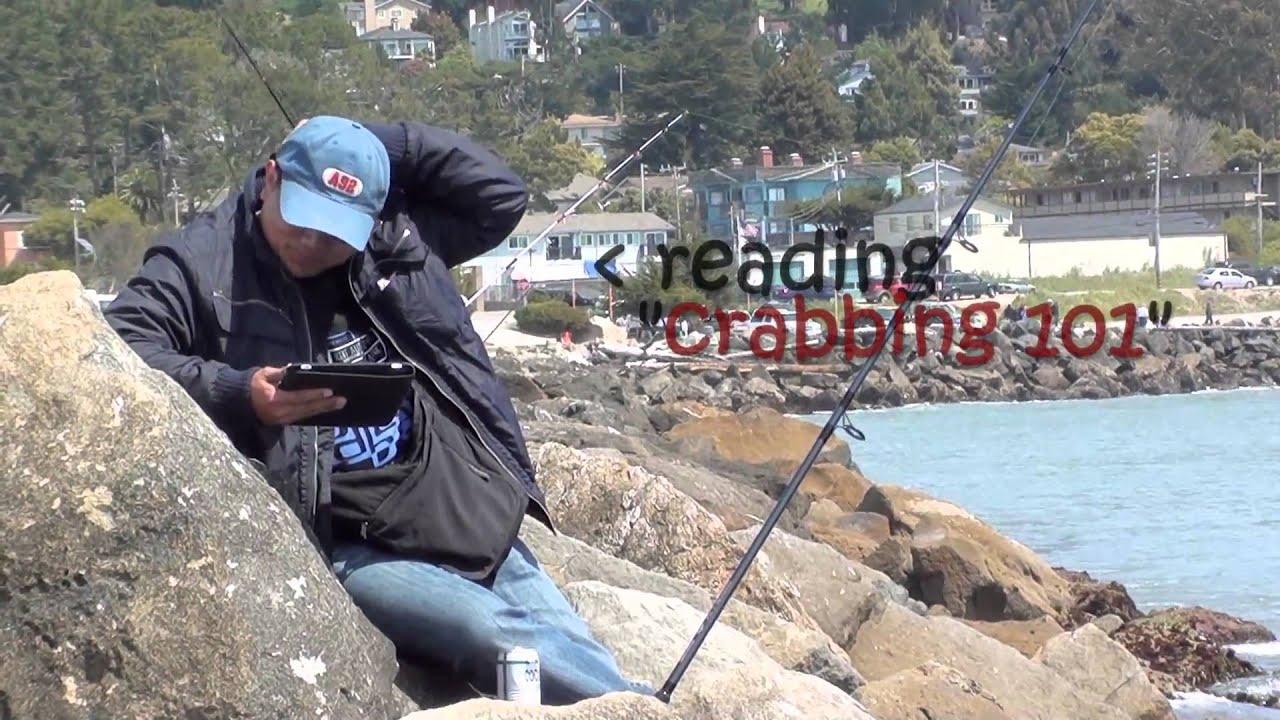 Crabbing pillar point harbor in half moon bay youtube for Half moon bay fishing report