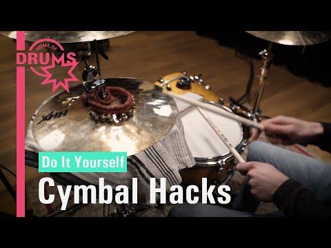 DIY - Cymbal Hacks | Home of Drums