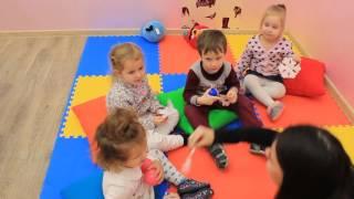 Занятие английским для детей 3-4 года группа