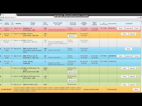 Интерфейс WEB Expert Logistic WMS