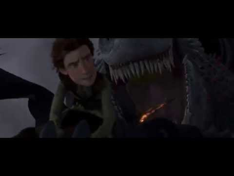 How To Train Your Dragon  Toothless VS Red Death Full Battle