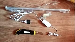 Лампа с бесконтактным управлением на кухню - обзор, установка