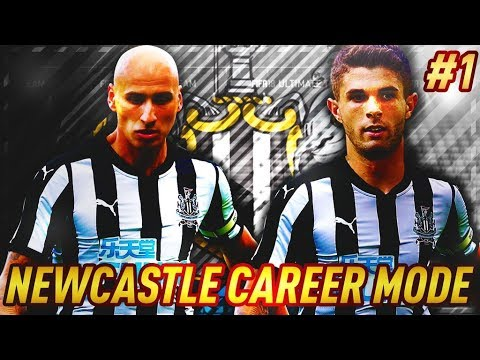YOU MAKE MY FIRST SIGNINGS! NEWCASTLE UNITED  FIFA 18 CAREER MODE #1
