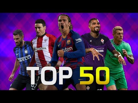Top 50 Goals of August 2019