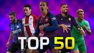 Top 50 Goals of August 2019