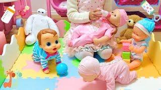 赤ちゃん人形 ほいくえん 先生ごっこ お世話 ネヌコ / Baby Doll Nursery Care : Nenuco : Baby Wow Charlie thumbnail
