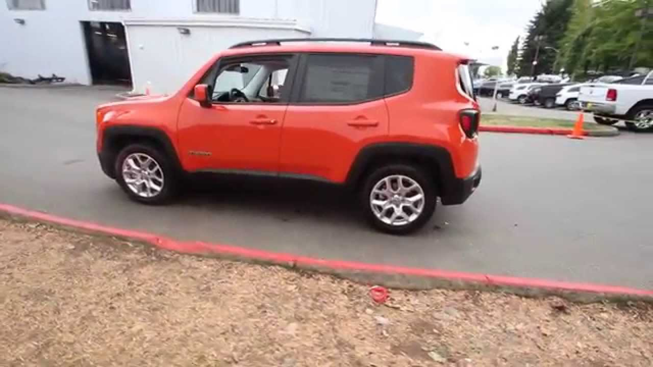 2015 jeep renegade latitude omaha orange fpb73909 redmond seattle youtube. Black Bedroom Furniture Sets. Home Design Ideas