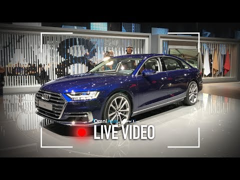 Nuova Audi A8, vista dal vivo all