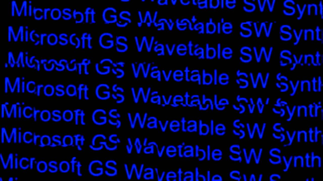 Microsoft gs wavetable sw synth free download