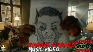 Eminem - Framed (Official Music Video) Illuminati Exposed