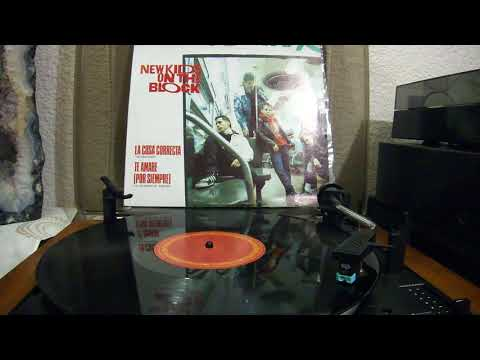 New Kids On The Block - The Right Stuff (1988) Vinyl