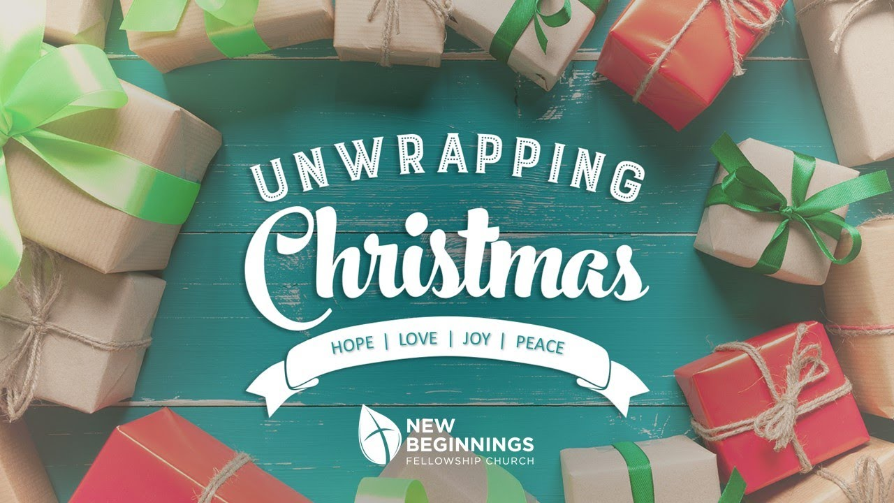 Unwrapping Christmas Series — New