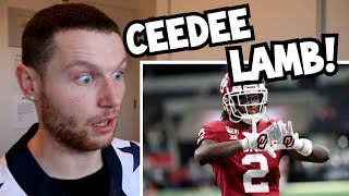 Rugby Player Reacts to CEEDEE LAMB Oklahoma Sooners College Football Career Highlights!