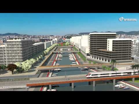 Photo Dortoka disseny - Canal Port Badalona - Virtual 3D - Drone - Barcelona