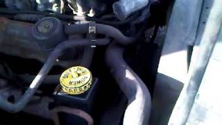 Ford Granada 2.9 i V6 Engine Running