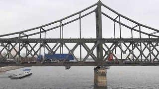 단둥 대북무역량 부쩍 줄어…중국 통관검사 강화