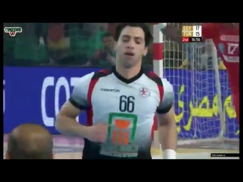 The Golden Boy - Ahmed Elahmar - 22nd African Men's Handball Championship best goals