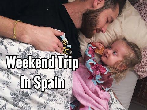 Weekend trip in Spain