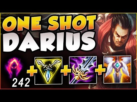 EVERYONE'S GETTING DUNKED! DARK HARVEST 1v9 DARIUS BUILD IS 100% BUSTED! League of Legends Gameplay