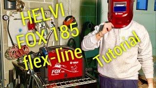 tutorial come saldare a filo continuo con helvi fox 185 recensione casco saldatura