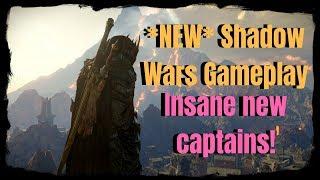 NEW SHADOW WARS GAMEPLAY! (Shadow of War)
