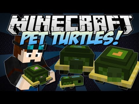 minecraft-|-pet-turtles!-(cute,-useful-little-companions!)-|-mini-mod-showcase-[1.6.2]