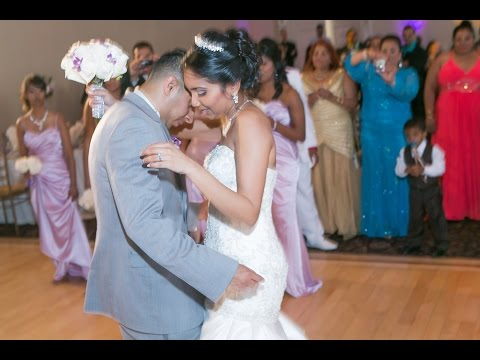 First Dance At A Trinidad Wedding Video Woodbridge Toronto wedding cinematography