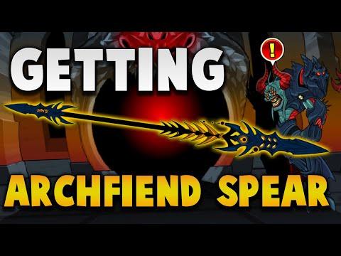 AQW Getting Archfiend Spear!