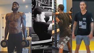 LeBron James, Lonzo Ball, Rajon Rondo & Kyle Kuzma Get Ready For Lakers 2018-19 NBA Season In Gym!