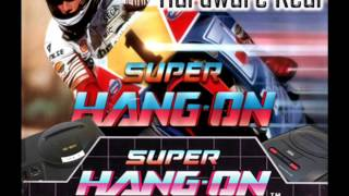 Super Hang On - Sprinter - Mega Drive (real hardware)