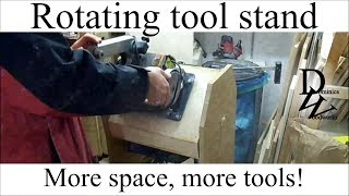 Rotating Tool Stand