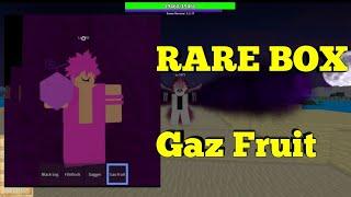 RARE BOX Gas Fruit-One Piece Legendary-Roblox