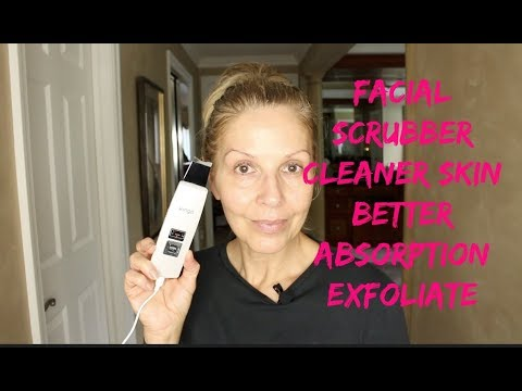 ultrasonic-skin-scrubber-|-exfoliate-|-clean-skin-|-anti-aging-|-tammy's-ageless-beauty