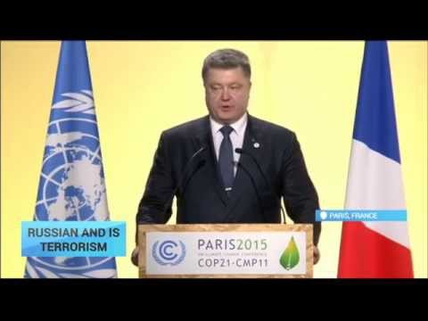 Russian and IS Terrorism: Ukrainian President sparks controversy in France