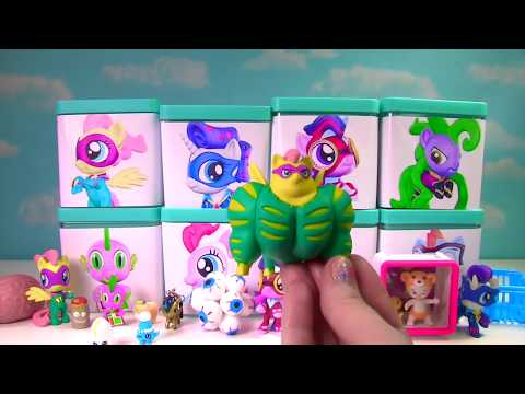 My Little Pony Power Ponies Full Case in Toy Surprise Blind Boxes