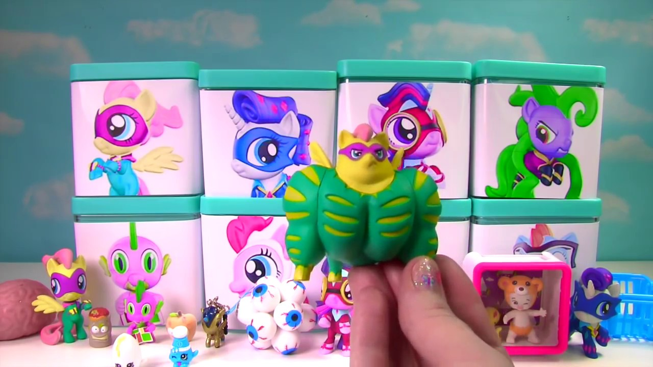 My Little Pony Power Ponies Full Case In Toy Surprise