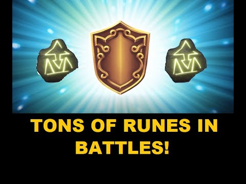 Royal Revolt 2: TONS OF RUNES IN BATTLES!!