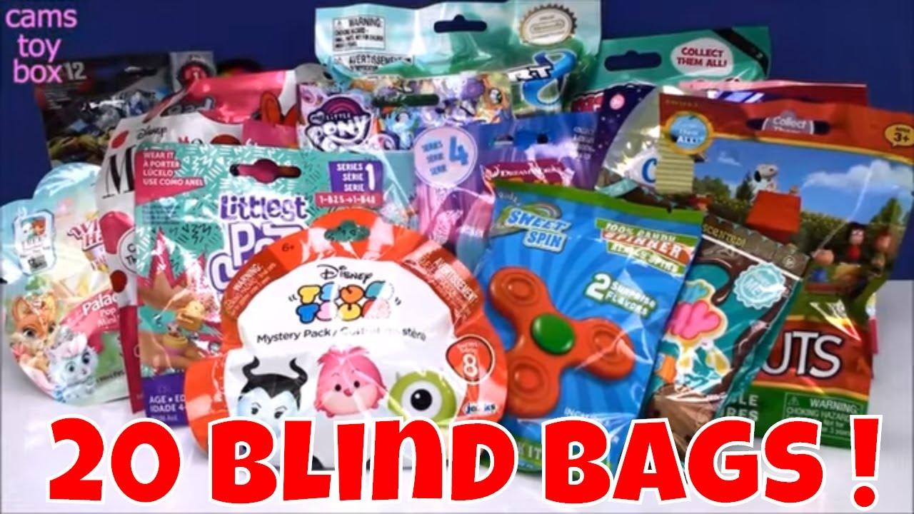 Smooshy Mushy Blind Bags Argos : 20 Blind Bags Opening Toys MarioKart SlitherIO Hello Kitty Peanuts Smooshy Mushy Squish Dee Lish ...