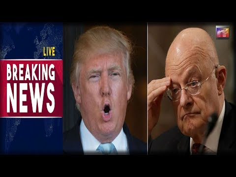 BREAKING: Clapper Flies Into PANIC MODE Over Trump's Latest Attack on The Deep State