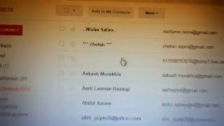 Sending email to all contacts on gmail in one go